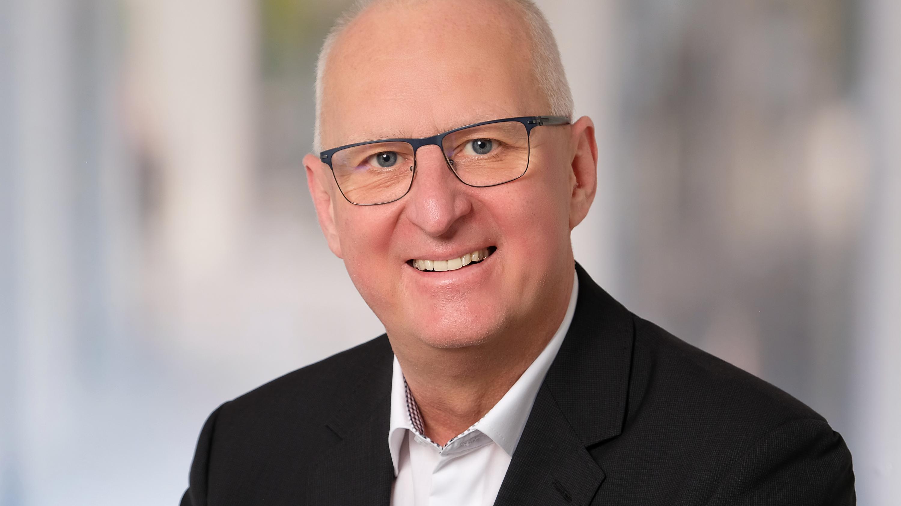 Der künftige Regionalbischof Klaus Stiegler