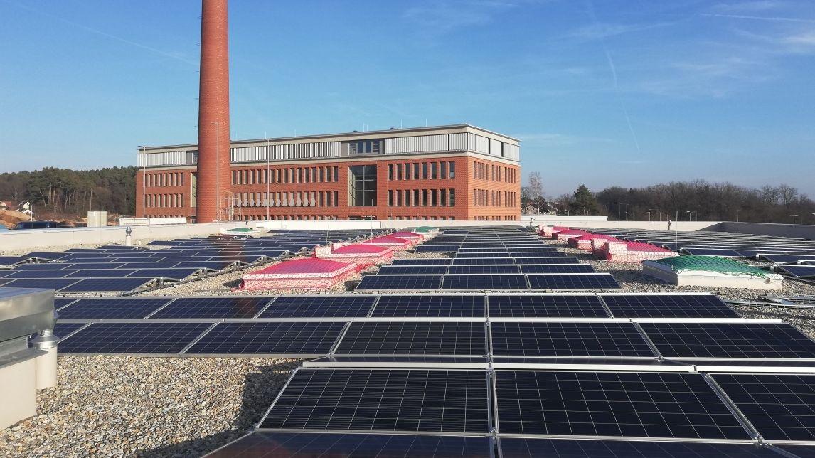 """Photovoltaikanlage Industriepark """"Alte Ziegelei"""" Spardorf/Uttenreuth"""