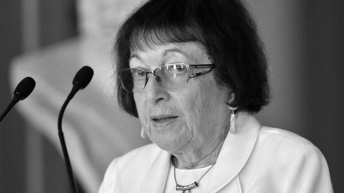 Fürsprecherin für Kultur und Versöhnung: Irena Veisaitė bei der Verleihung der Goethe Medaille 2012
