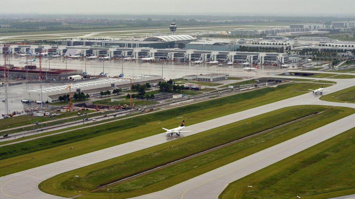 Wenig Betrieb am Flughafen München (Archivbild).