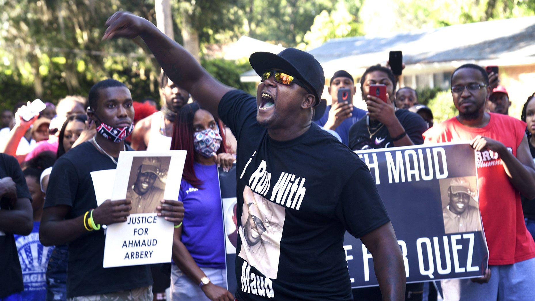 Die Schüsse auf das 25-jährige Opfer sorgten für Proteste in Georgia.