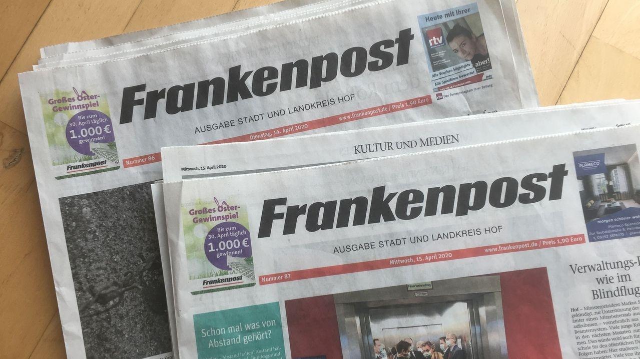 Zeitungsverlage fordern Geld