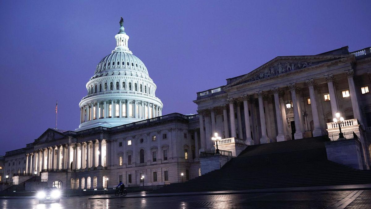 Die Entscheidung, welche Partei nach der Wahl die Mehrheit im US-Senat stellt, ist noch nach allen Seiten offen.