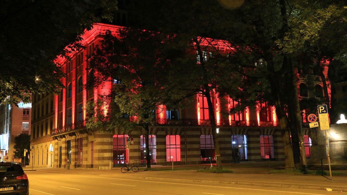 Gebäude am Münchner Lenbachplatz