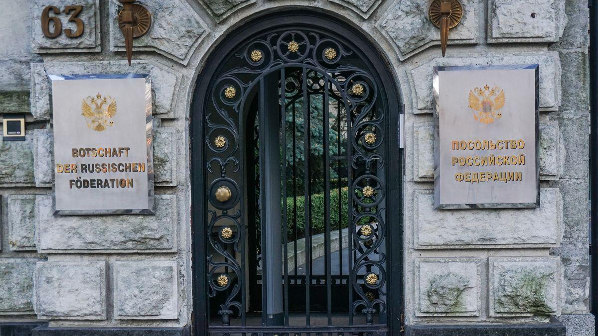 Die russische Botschaft in Berlin