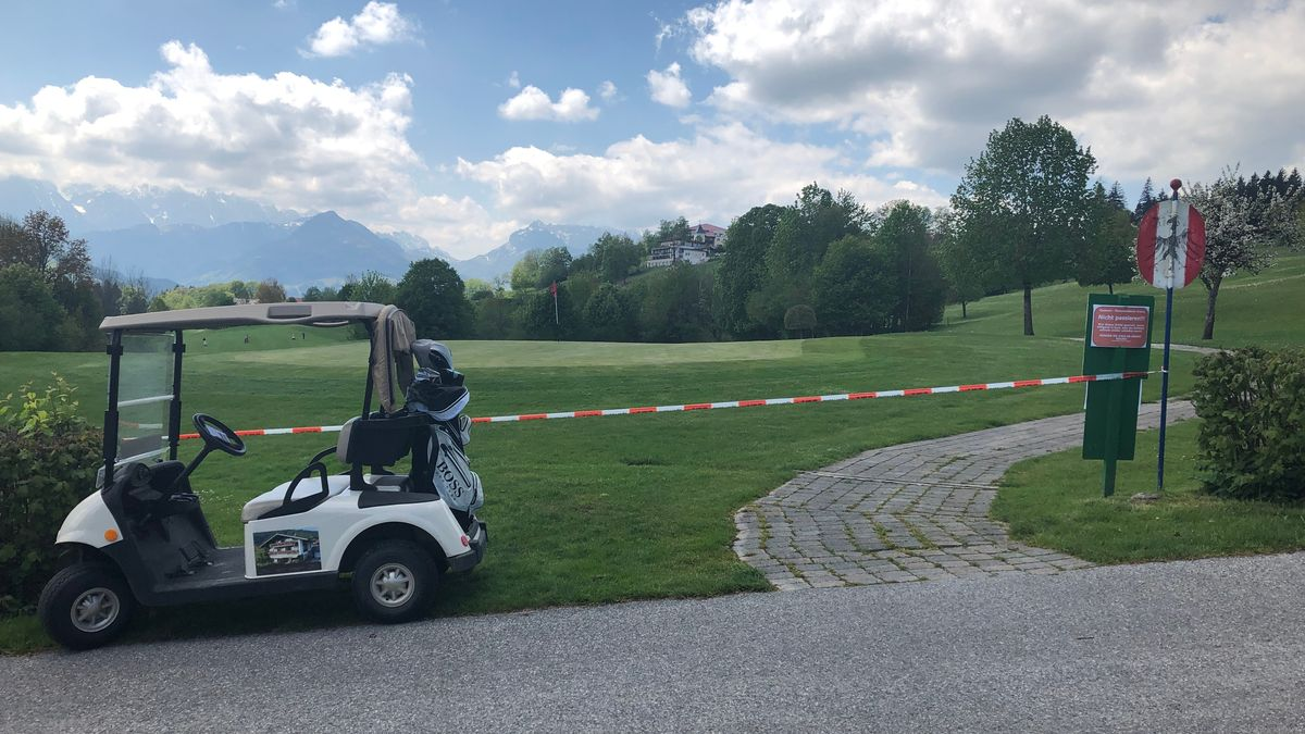 Golfplatz in Reit im Winkl