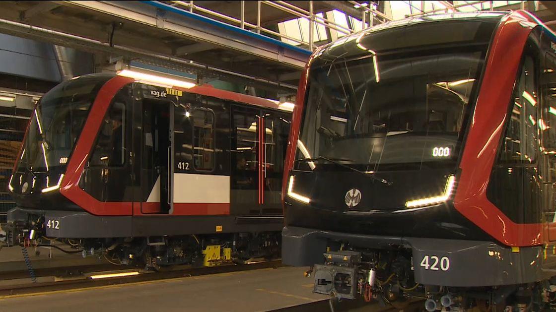 Nürnberg bekommt neue U-Bahn-Züge