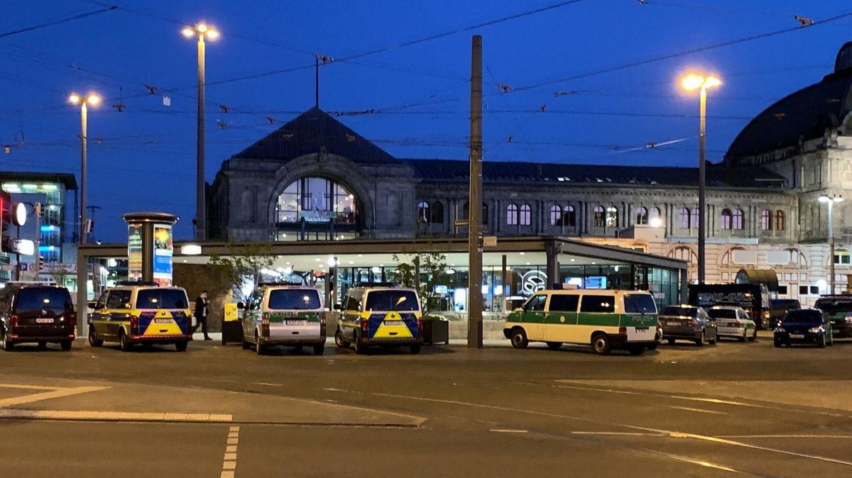 Massenschlägerei in Nürnberger verhindert