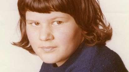 Das Foto zeigt die damals zwölfjährige Schülerin Monika Frischholz.