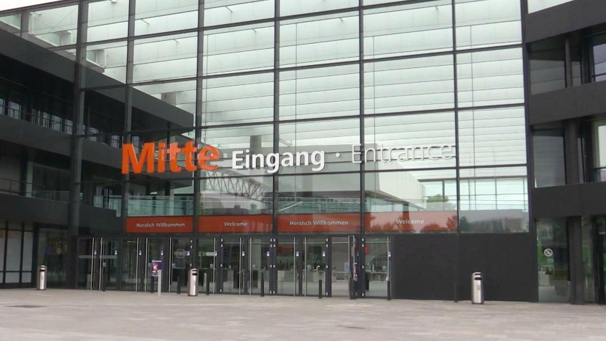EingangsBereich zur Nürnberg Messe.