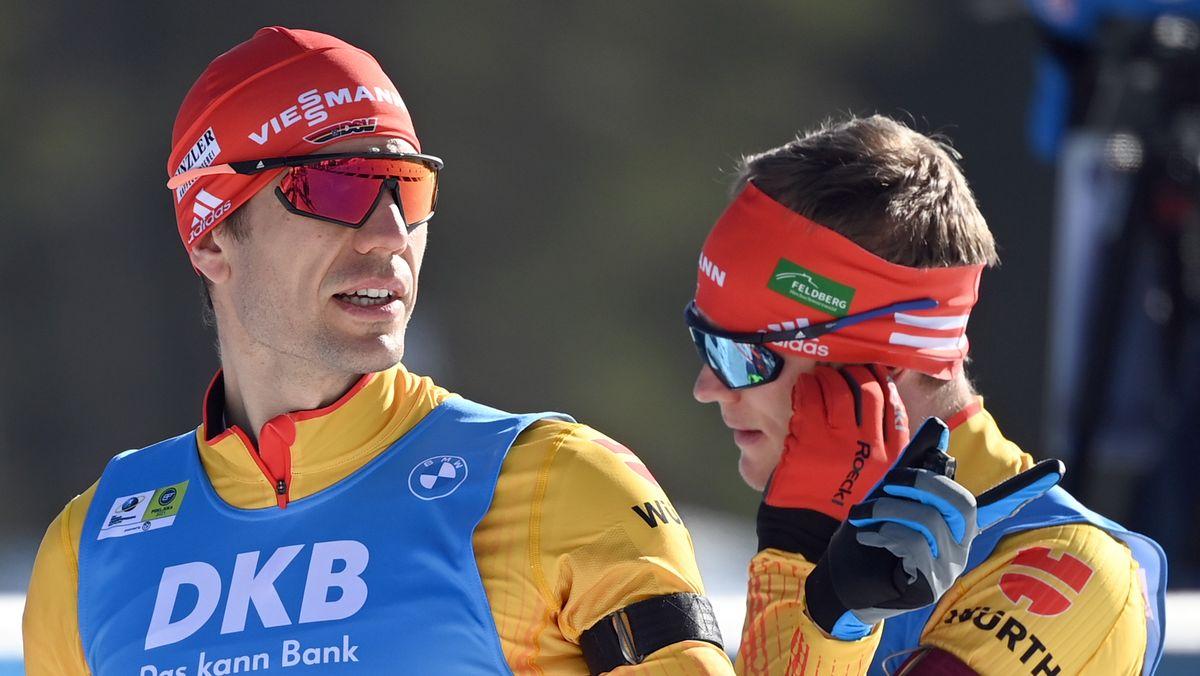 Arnd Peiffer (links) und Benedikt Doll