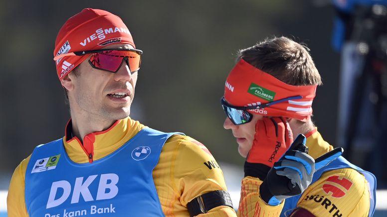 Arnd Peiffer (links) und Benedikt Doll | Bild:picture-alliance/dpa