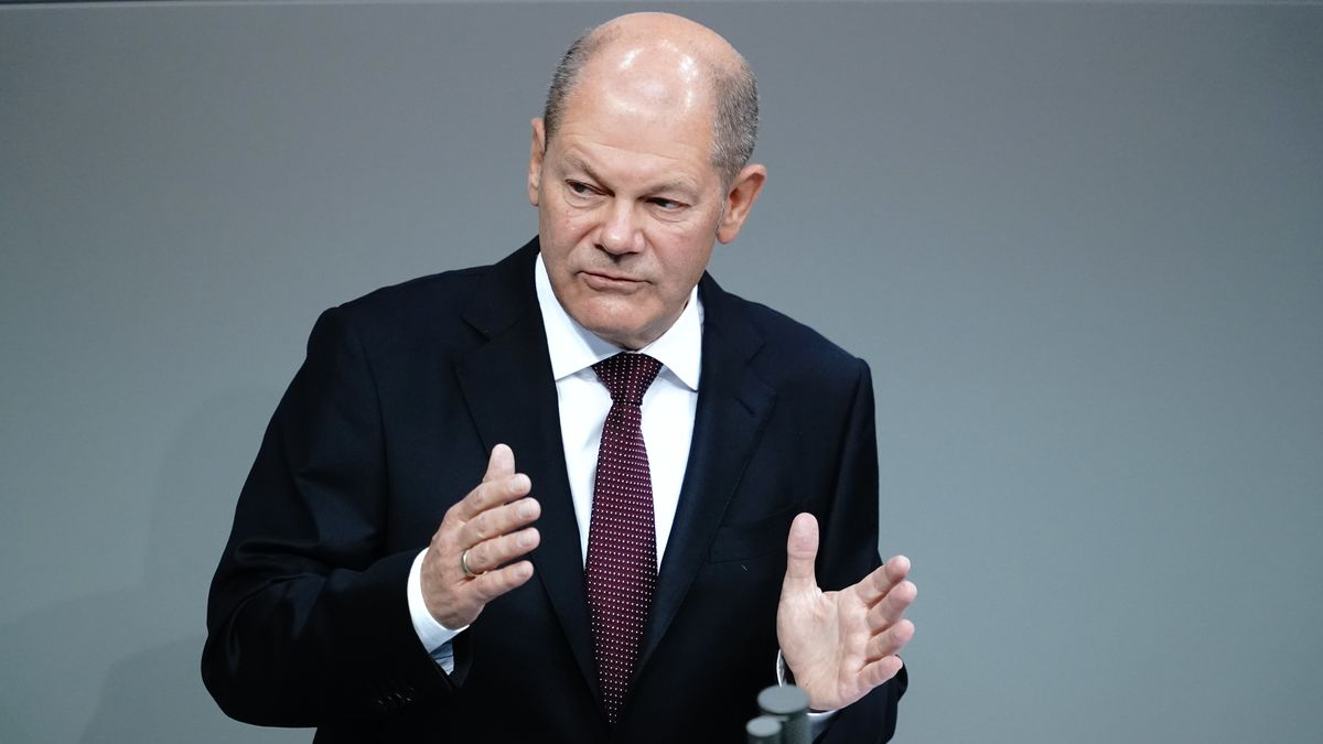 Bundesfinanzminister und Vizekanzler Olaf Scholz (SPD).