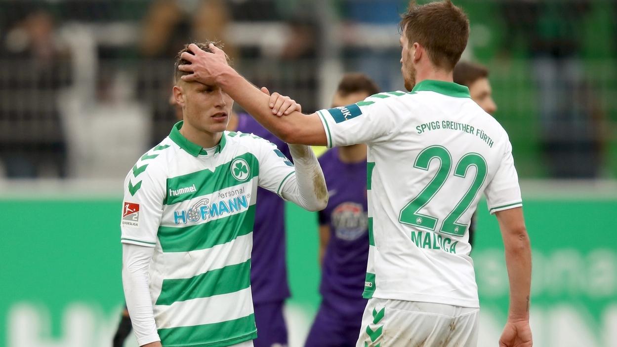 SpVgg Greuther Fürth - FC Erzgebirge Aue