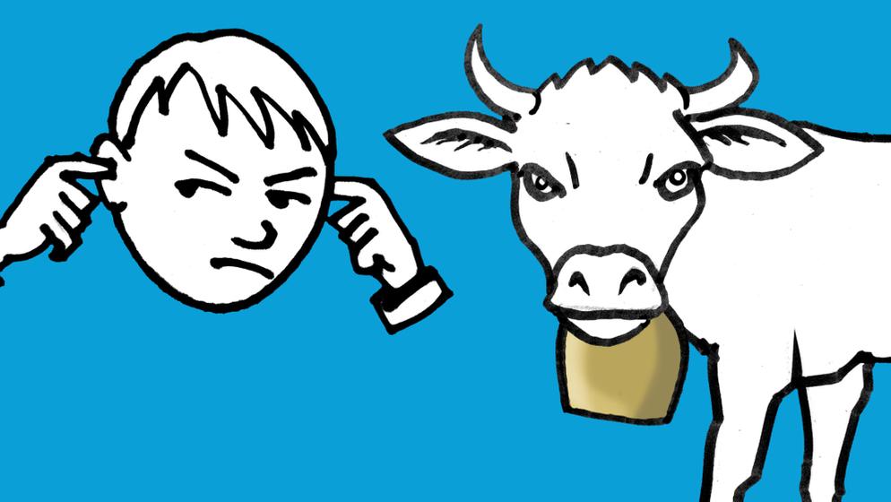 Kuhglocken - Tradition, oder Lärmbelästigung für Mensch und Tier? #fragBR24 | Bild:BR24