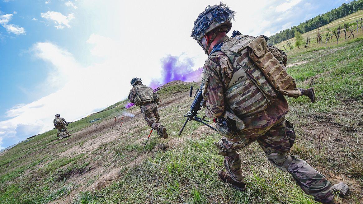 US-Soldaten auf dem Truppenübungsplatz Grafenwöhr (Symbolbild)