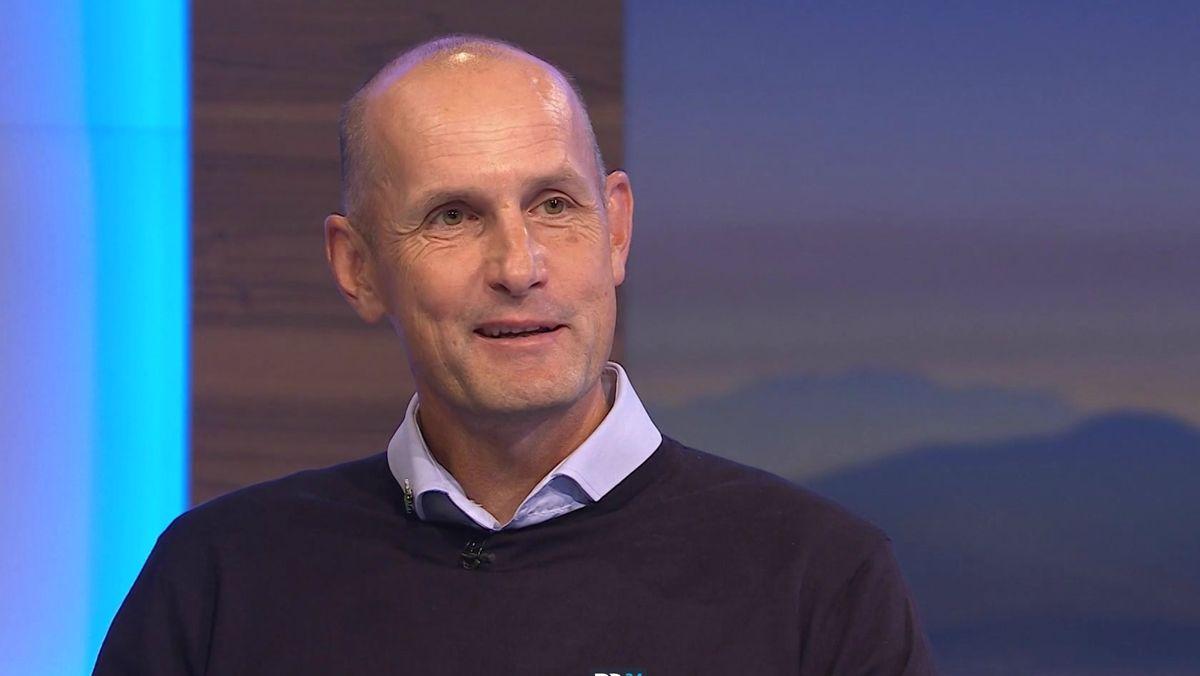 FCA-Trainer Heiko Herrlich bei Blickpunkt Sport