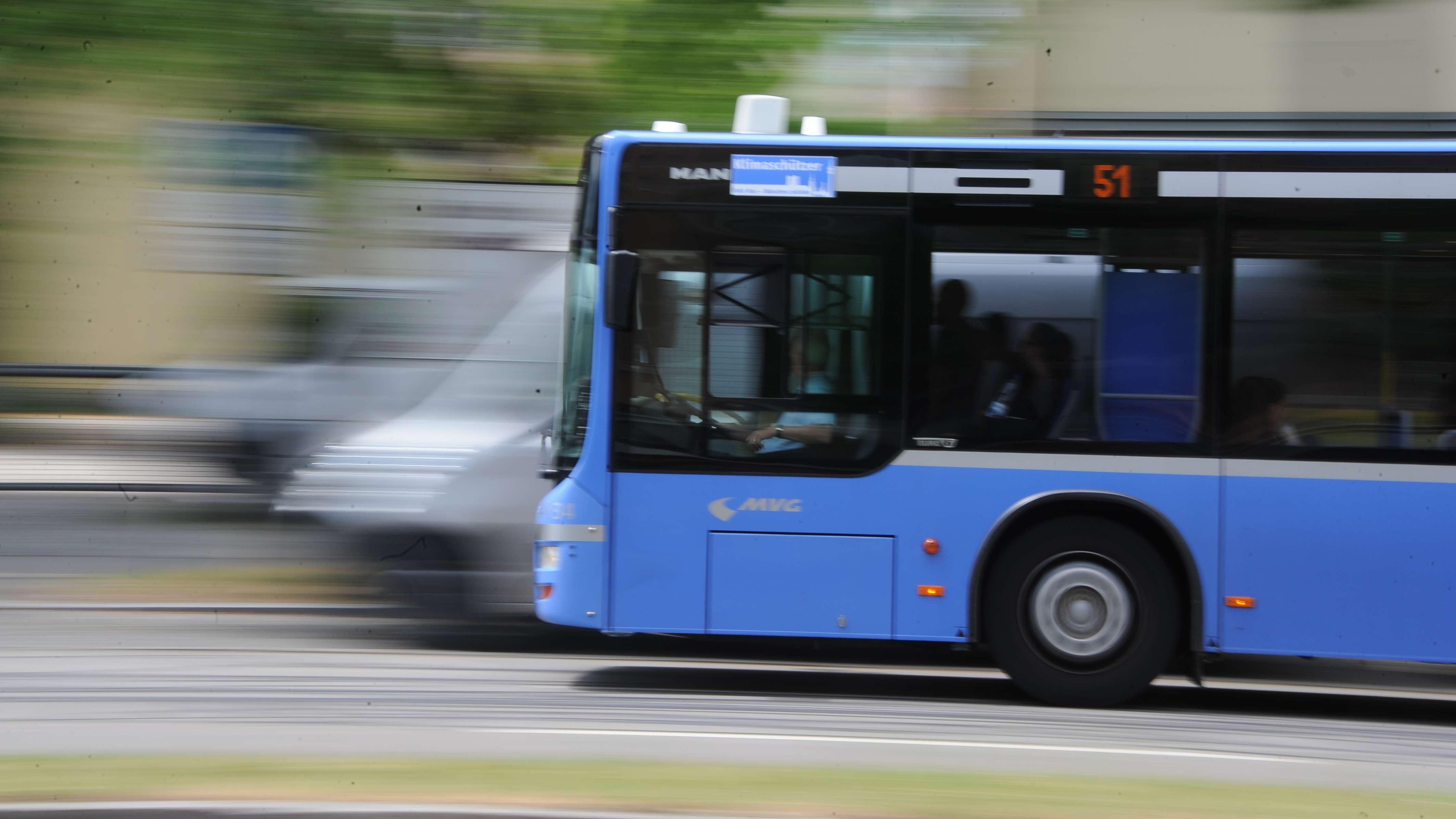 Symbolbild: Linienbus in München