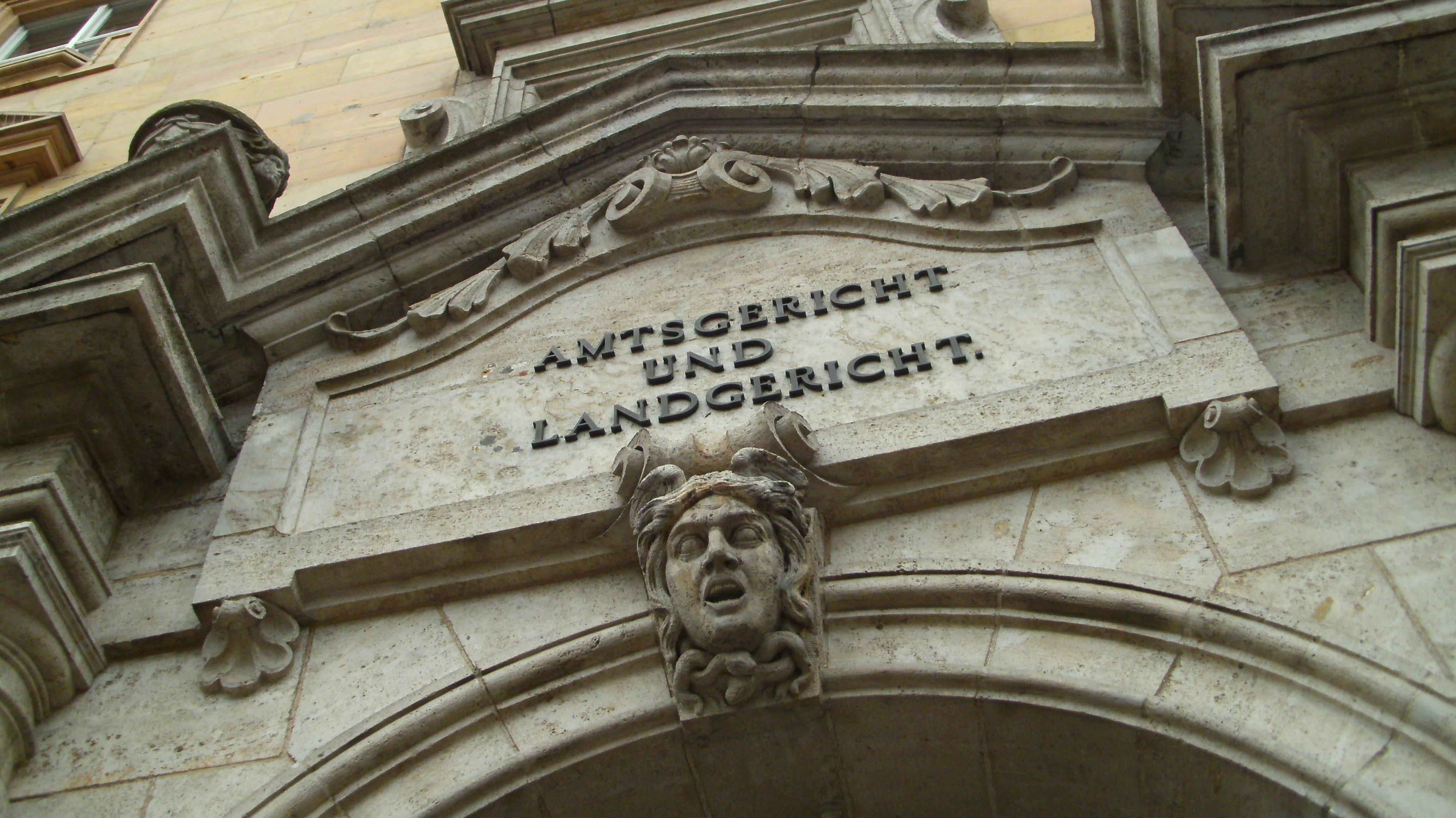 Amts- und Landgericht in Regensburg