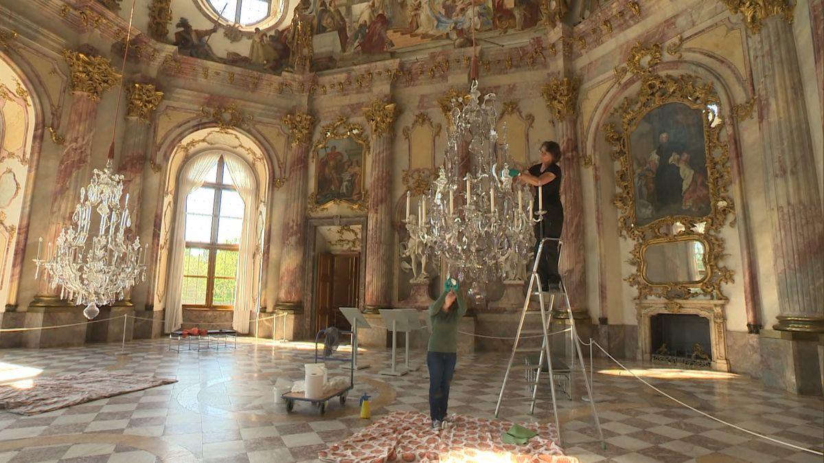 Der Kaisersaal der Würzburger Residenz