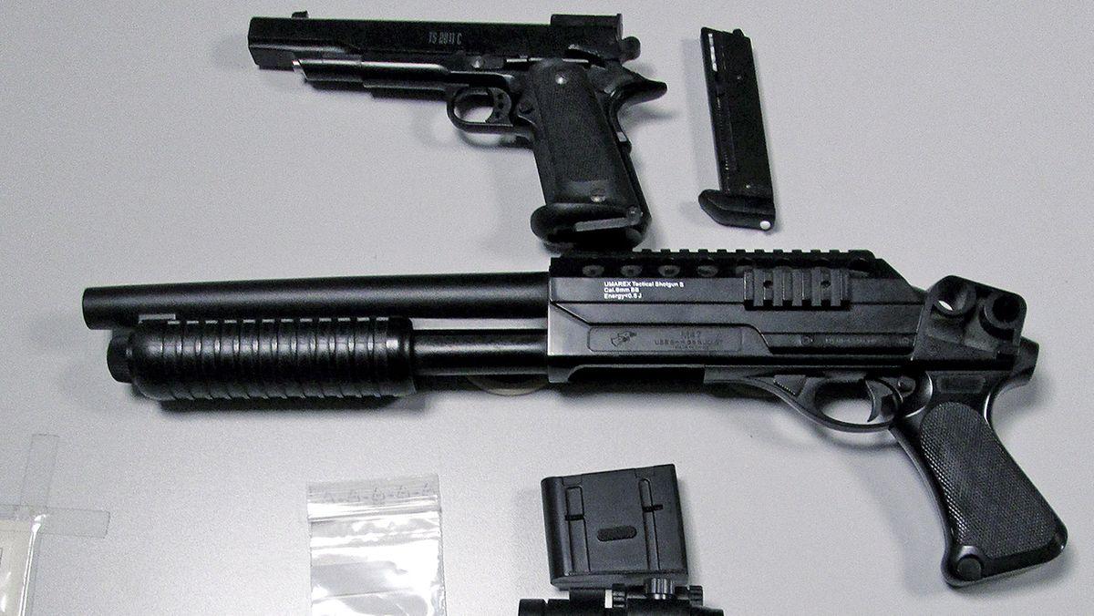 Symbolbild: Softair-Waffen