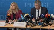 Ministerin Huml und Zapf | Bild:BR
