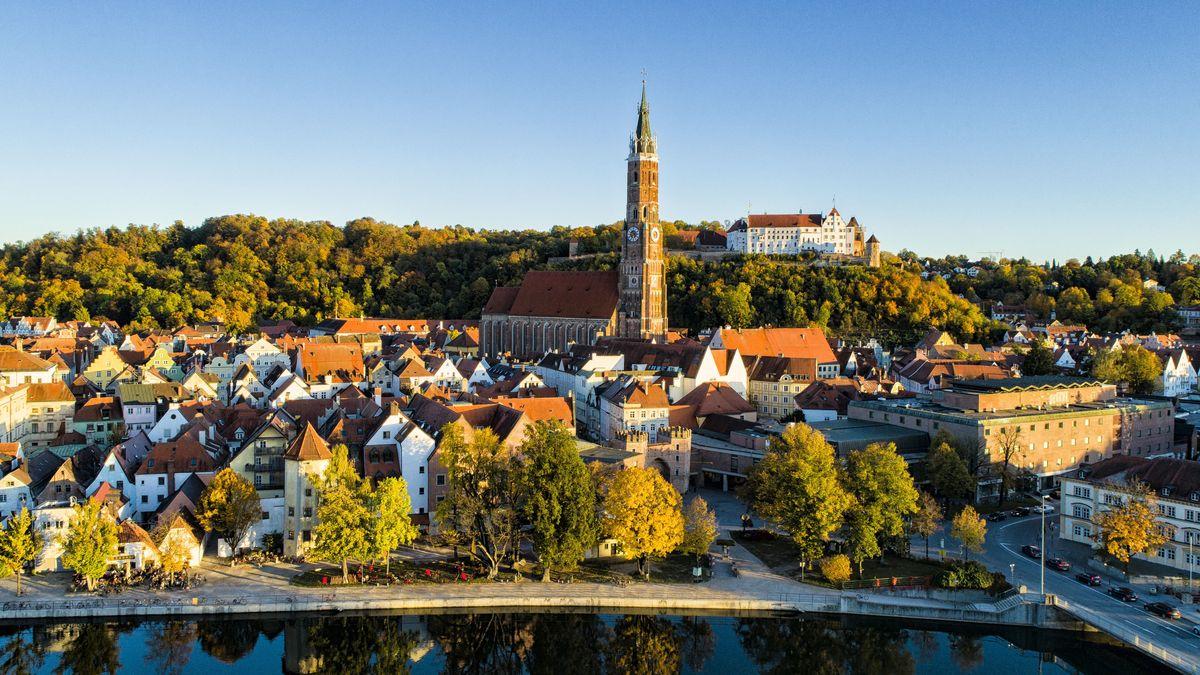 Die Altstadt von Landshut