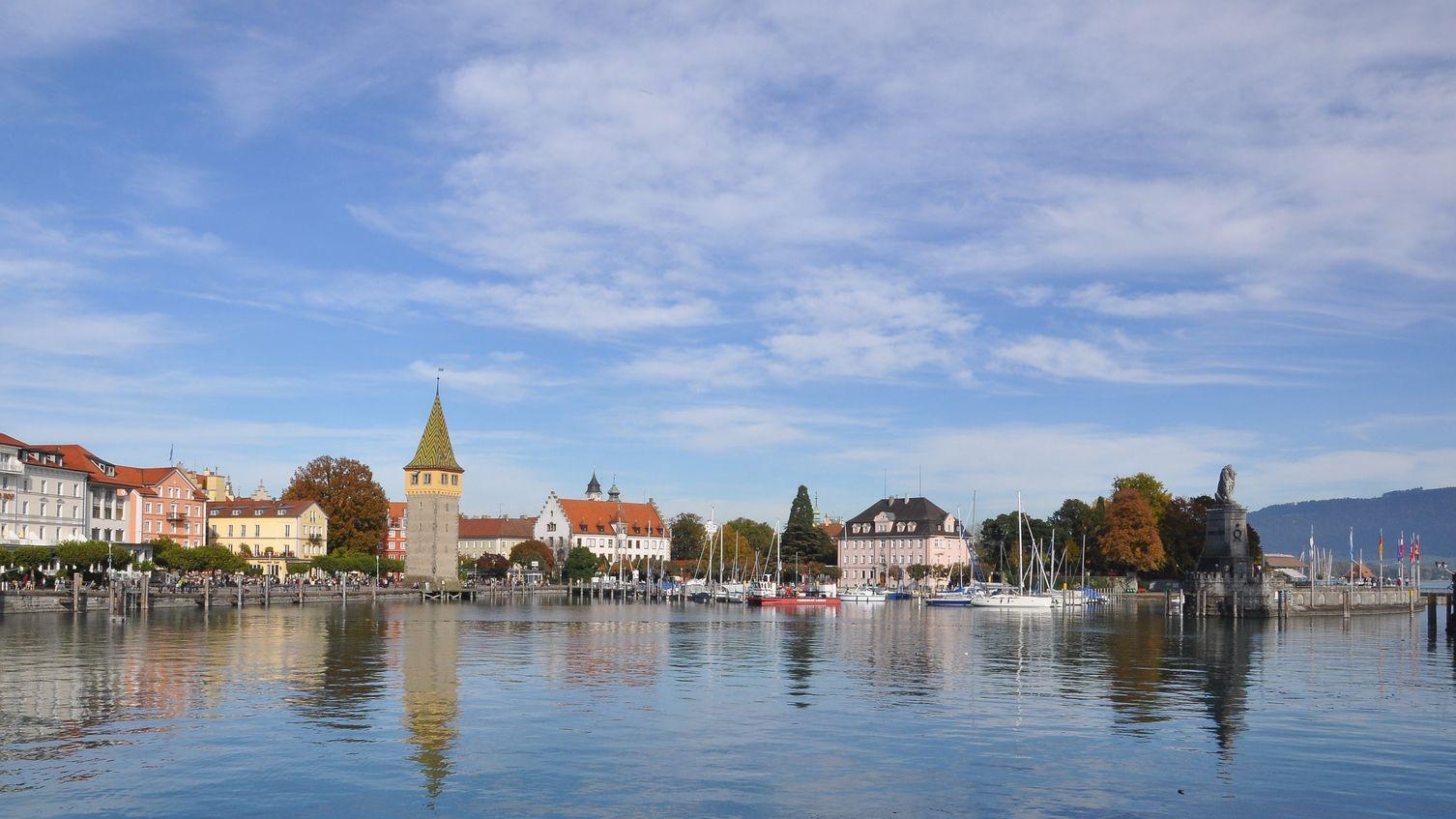 Der Hafen von Lindau