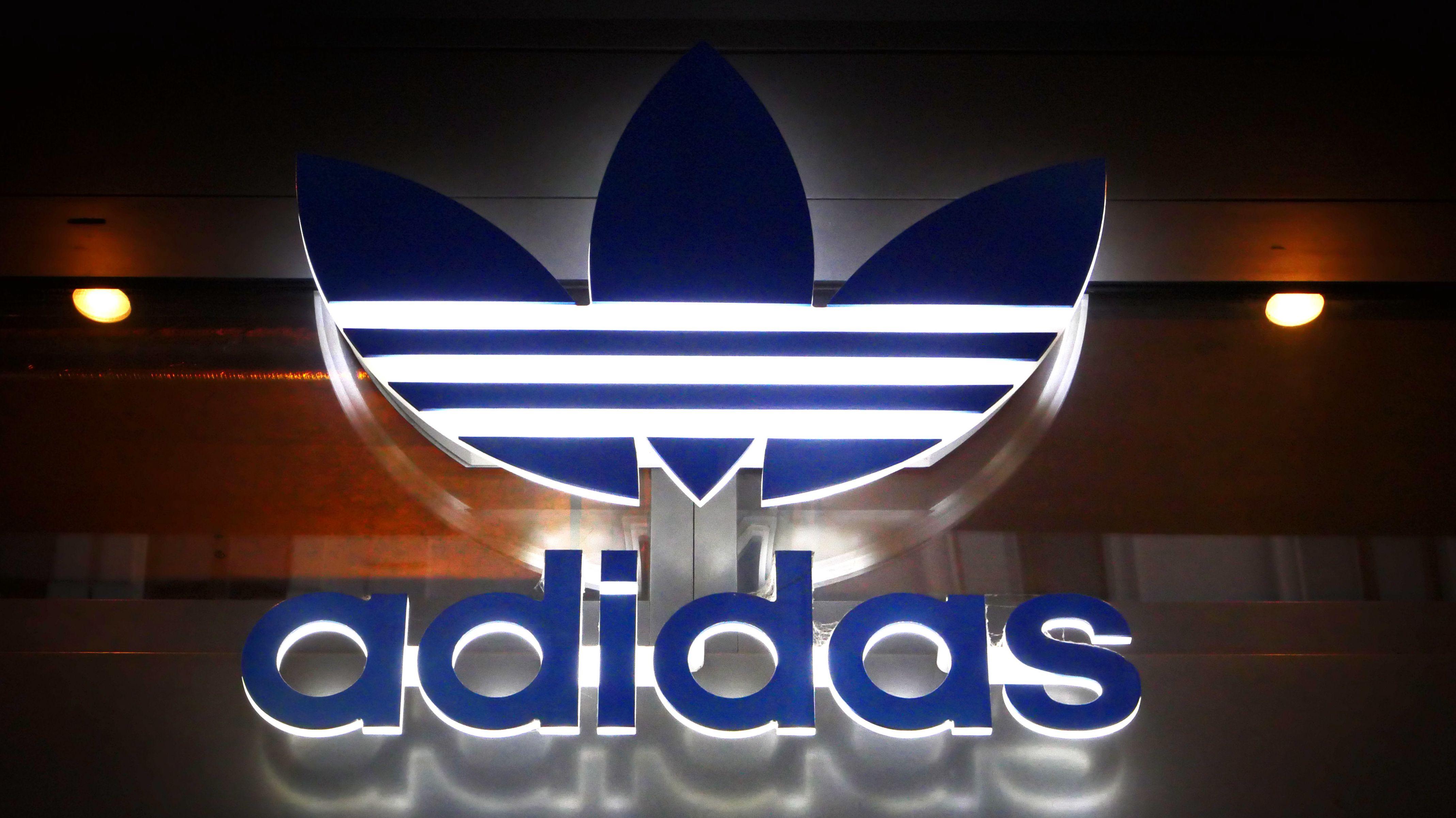 Eine Filiale vom Sportartikelhersteller Adidas