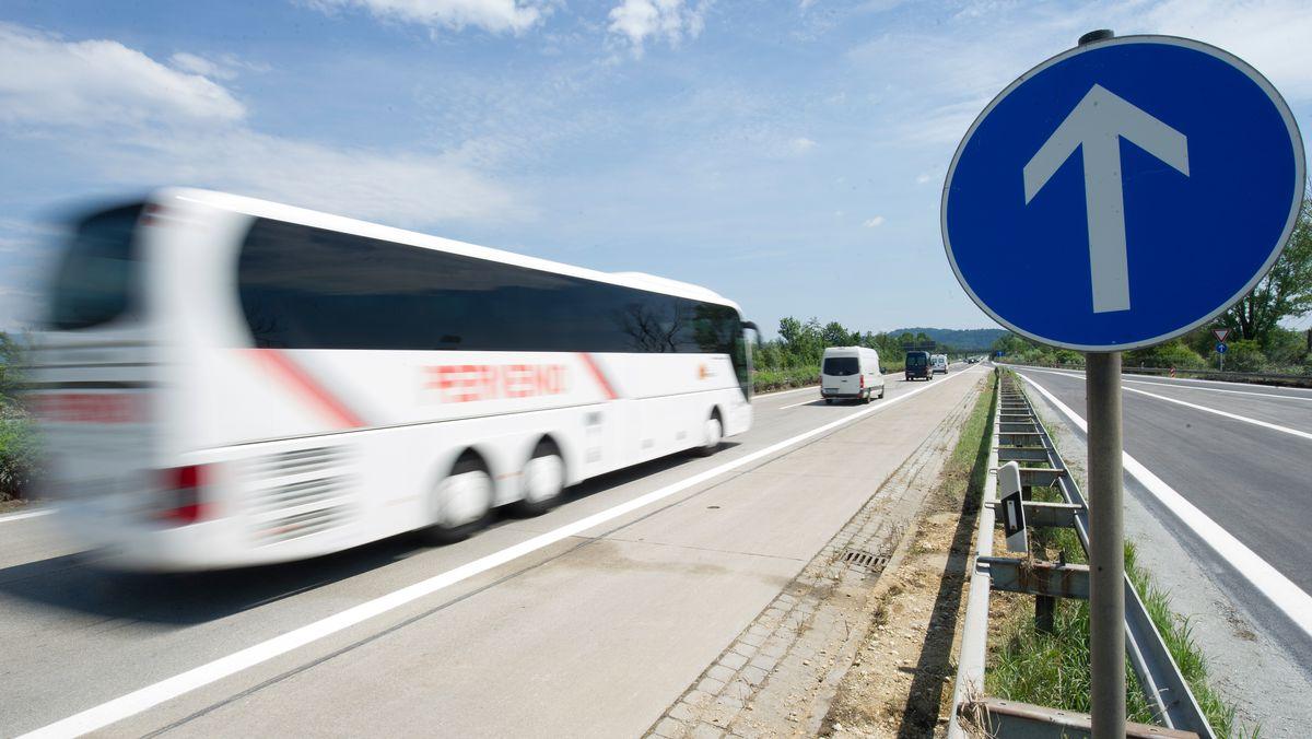 Autobahn 3 bei Metten