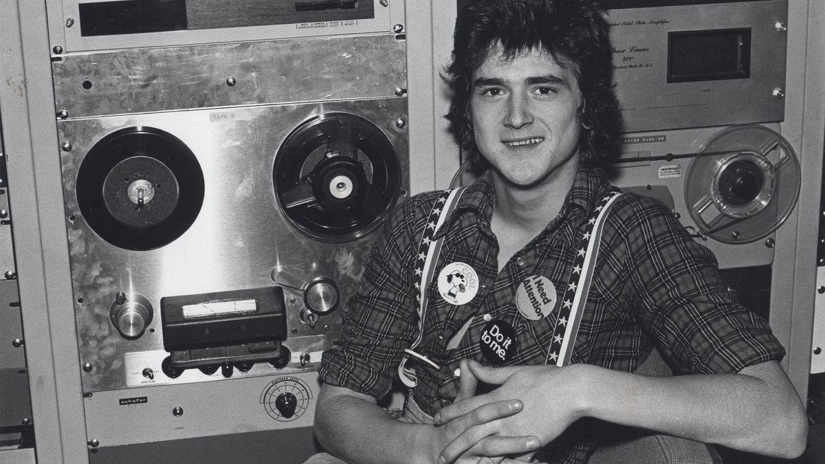 Der Sänger in den siebziger Jahren