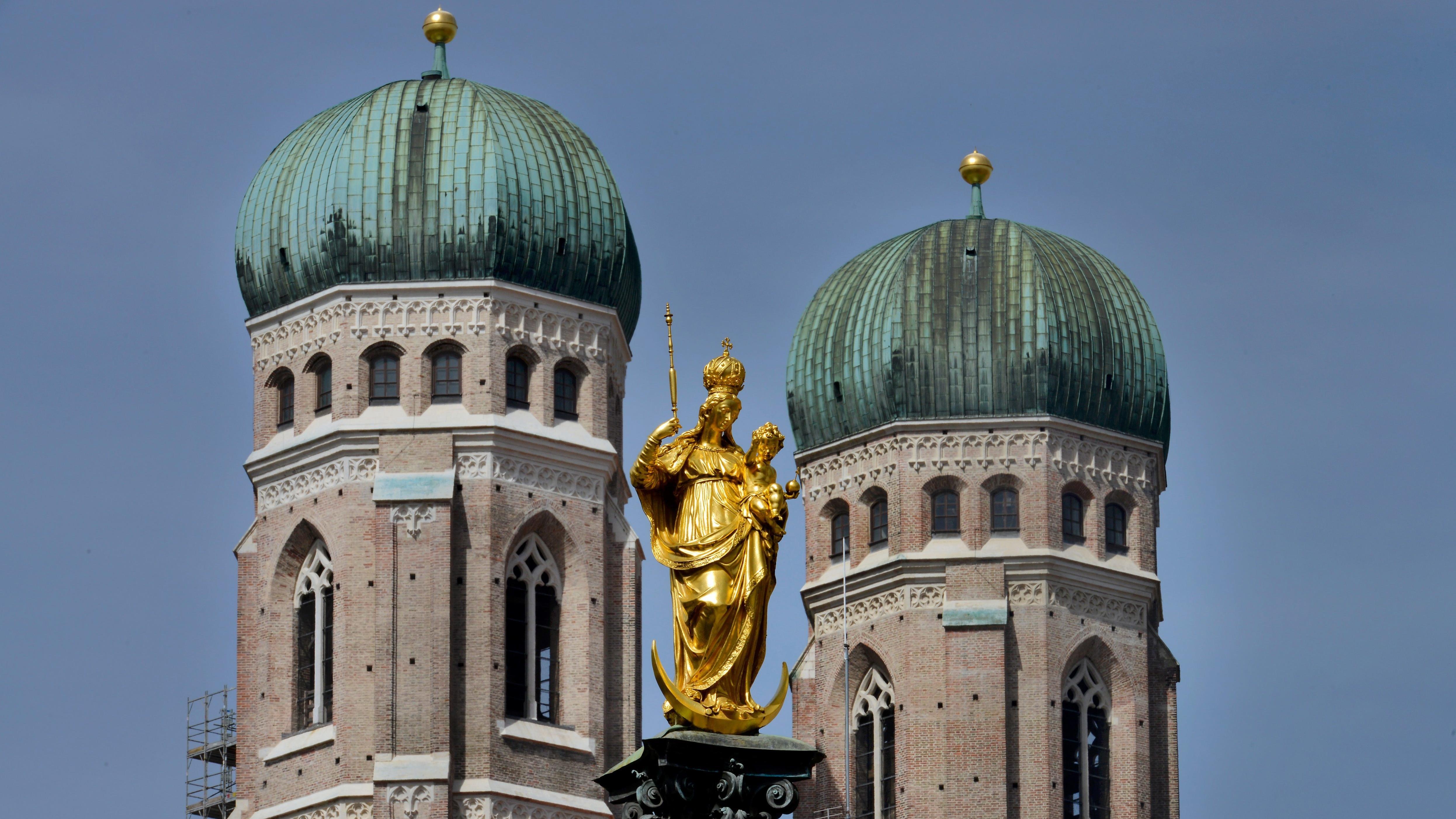 Symbolbild: Türme der Münchner Frauenkirche.