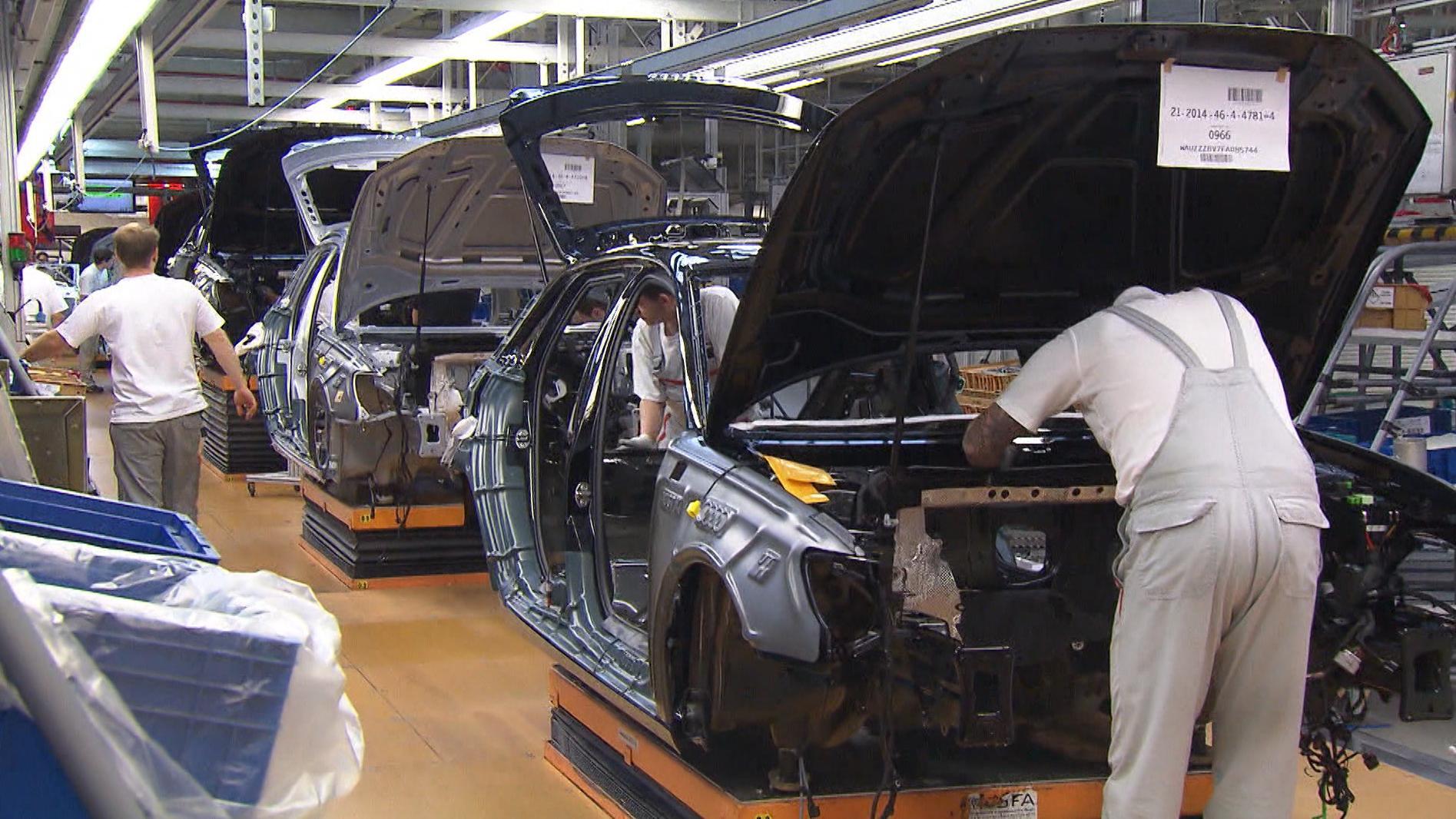 Fertigung bei Audi