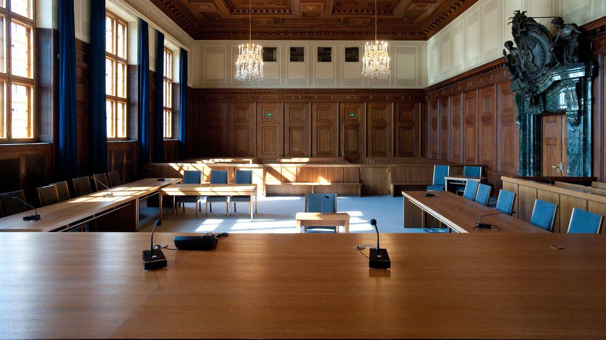 Saal 600 im Nürnberger Justizpalast
