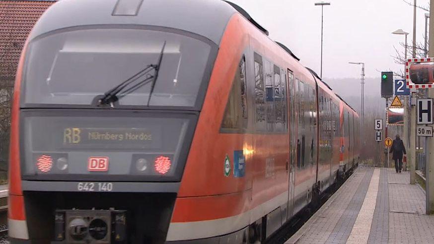Gräfenbergbahn fährt ab