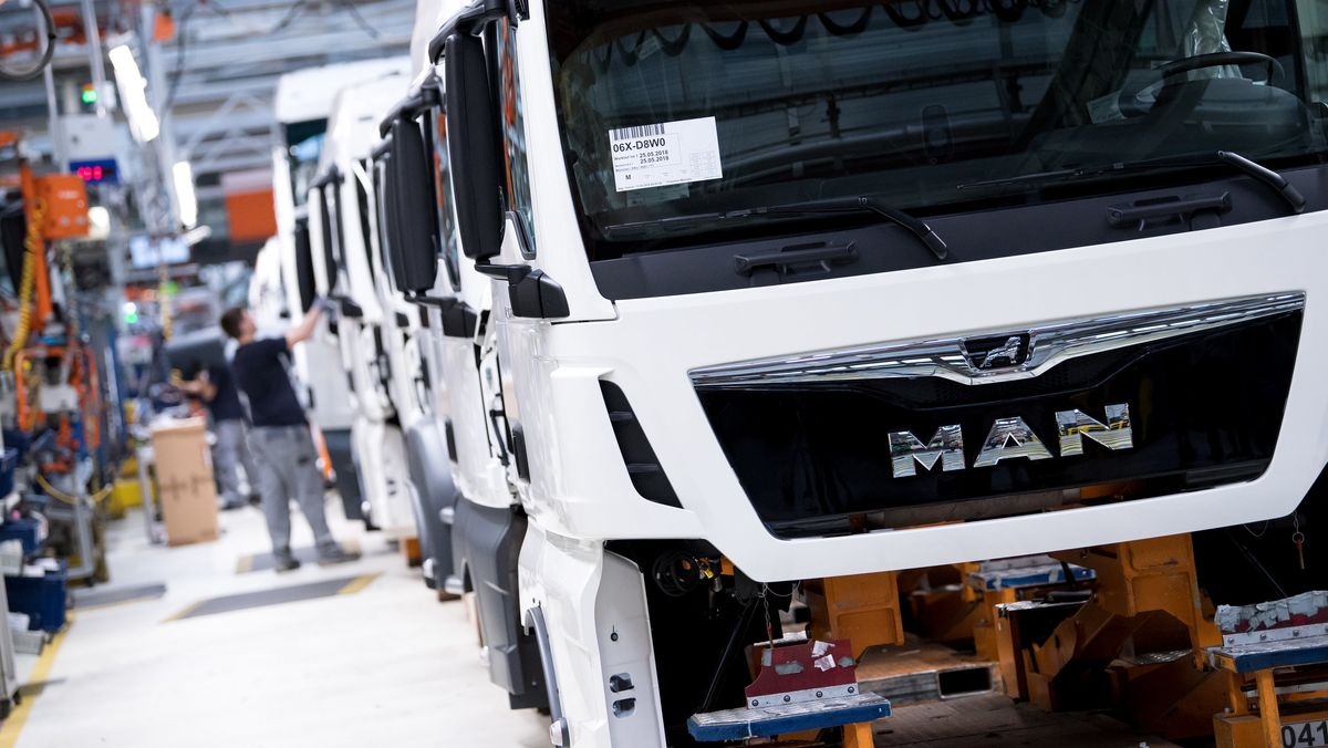 MAN Truck-Produktion