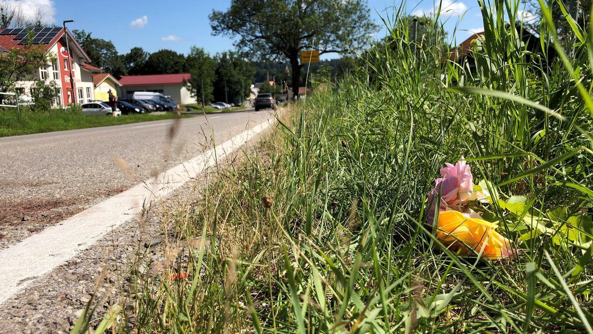 Blumen am Ortsrand von Obergünzburg