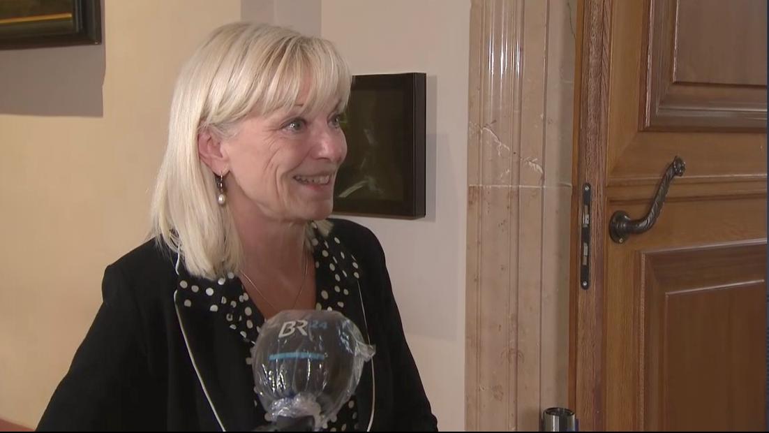 Sozialministerin Carolina Trauntner im BR24 Live
