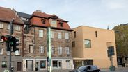 Alt- und Neubau des Jüdischen Museums Fürth. | Bild:BR/Nicole Schmitt