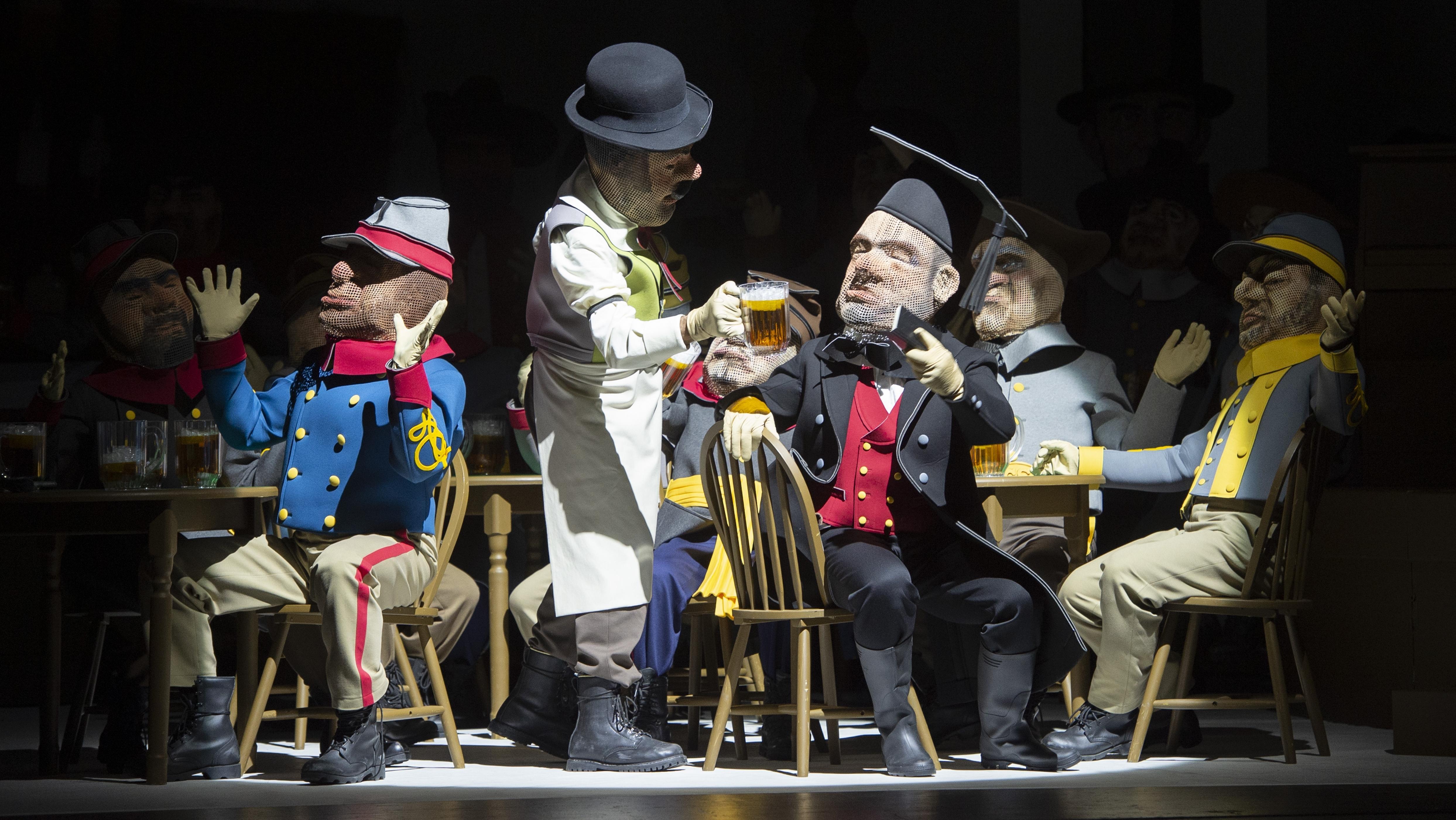In einer Kneipe mit Abraham Lincoln