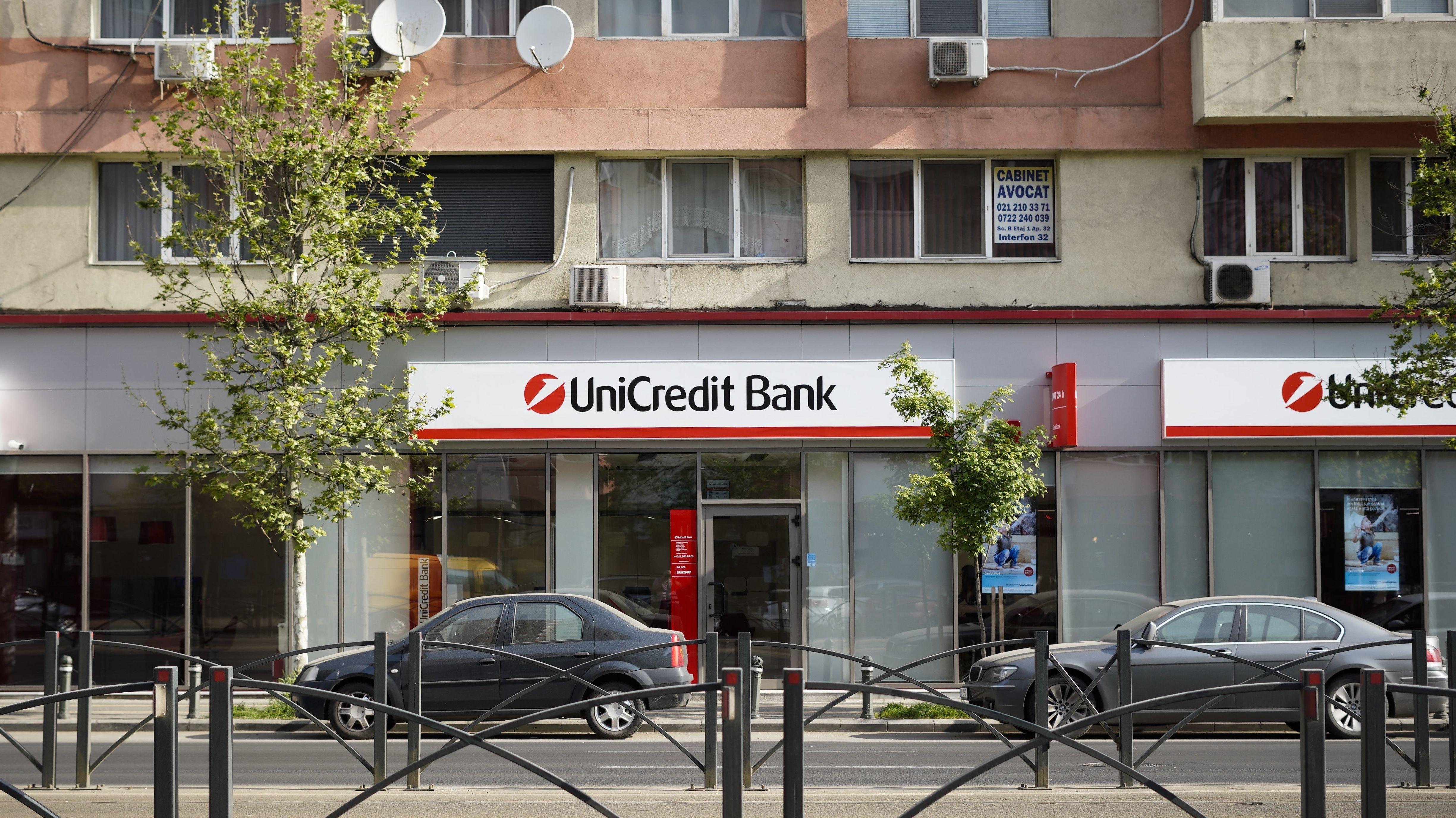 Filiale der Unicredit
