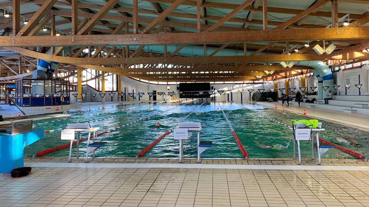 Ideale Trainingsbedingungen finden die Leistungsschwimmer derzeit in der Hannah-Stockbauer-Halle in Erlangen vor.