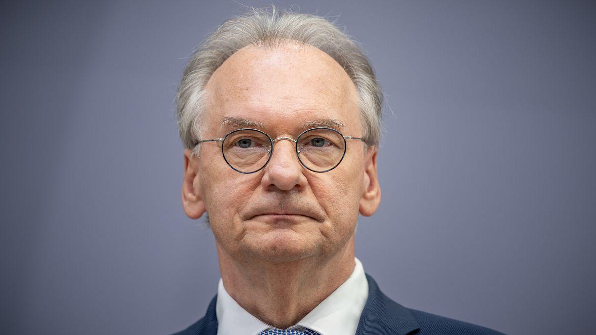 Reiner Haseloff (CDU), Ministerpräsident von Sachsen-Anhalt.
