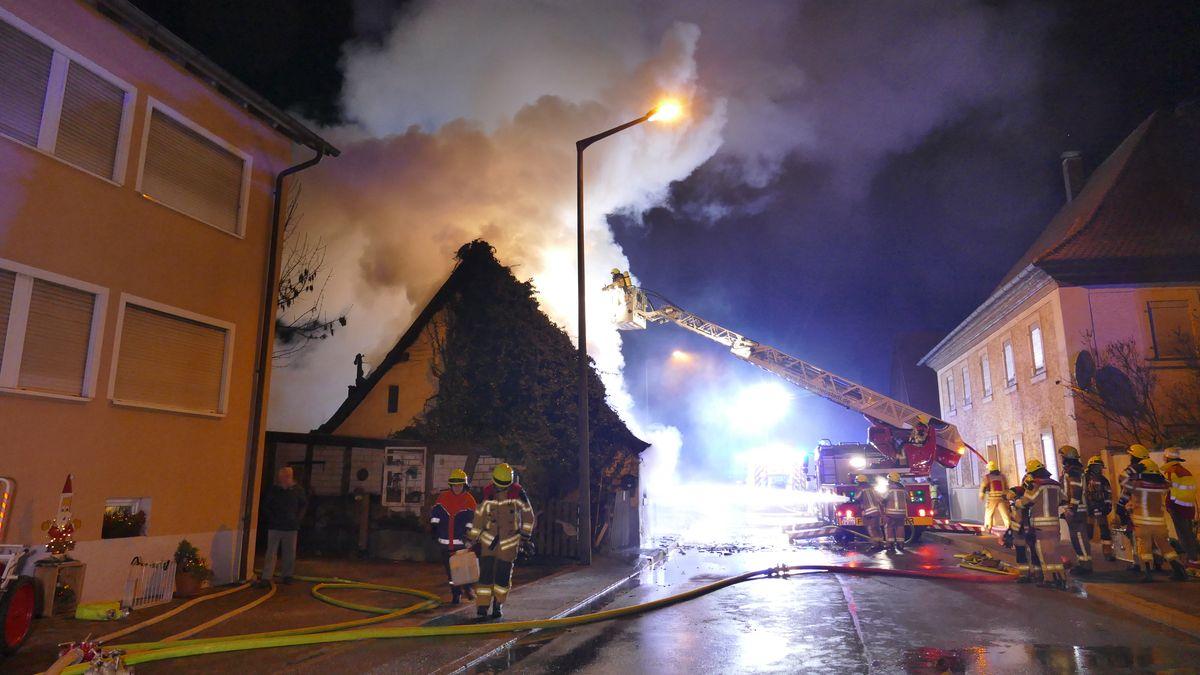 Wohnhausbrand in Birkenfeld