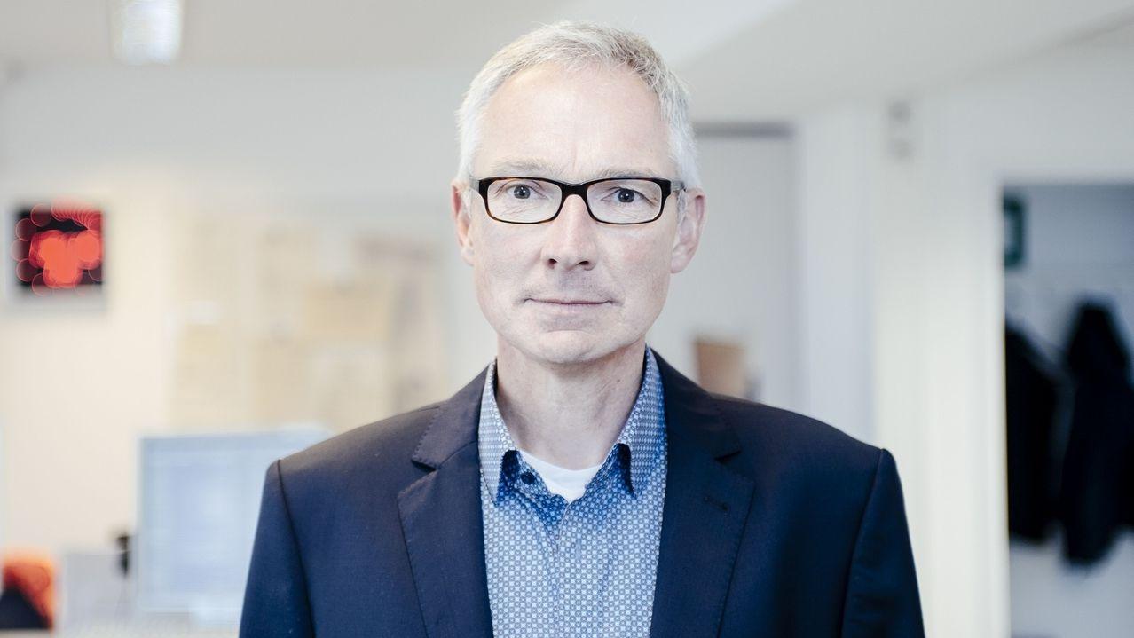 """Norbert Steiche, BR Korrenspondent für die Region """"Main-Rhön"""" in Schweinfurt"""
