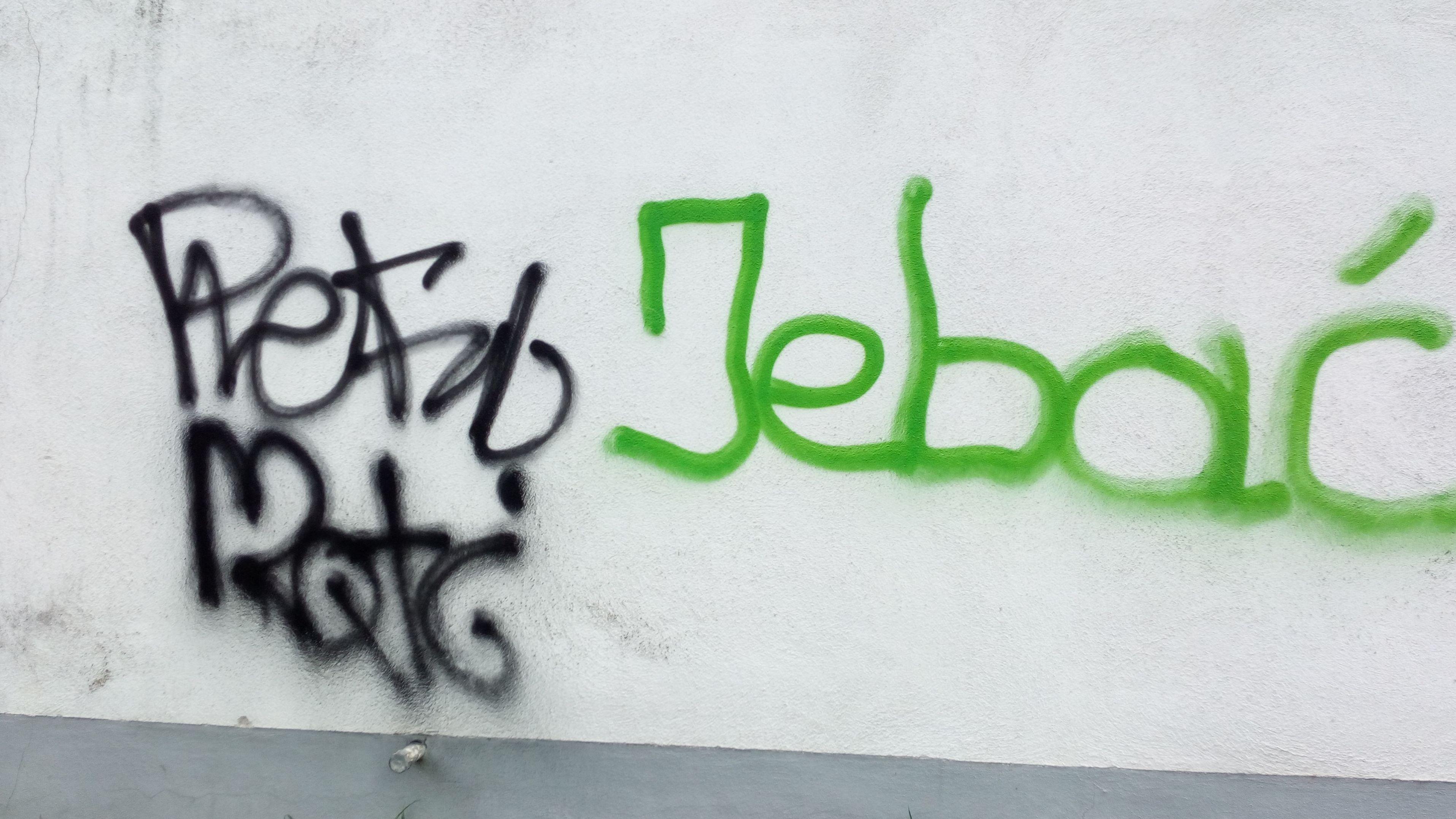 """Ein """"Werk"""" der Sprayer in Landshut"""