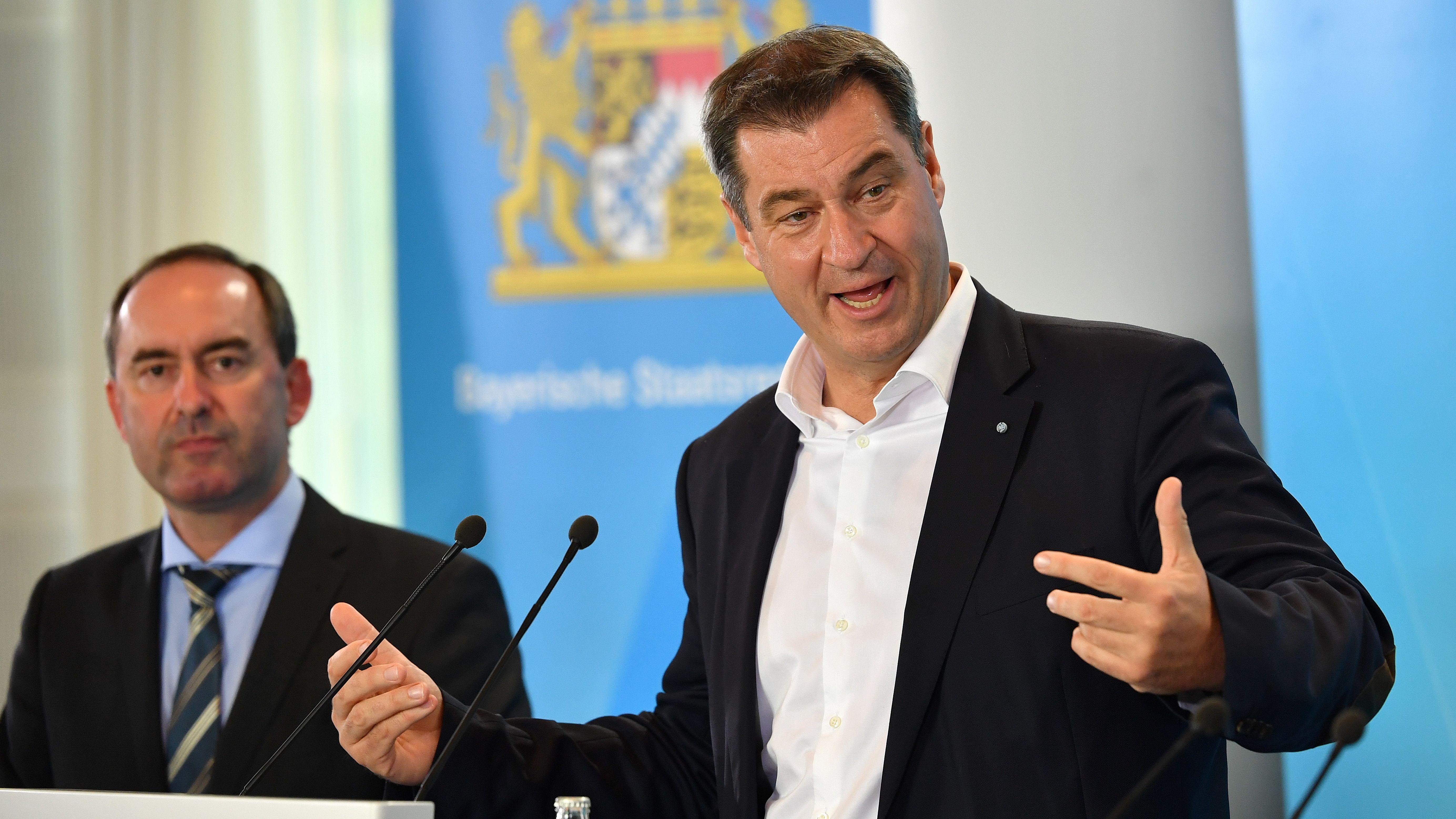 Aiwanger und Söder stellen Energiepläne für Bayern vor