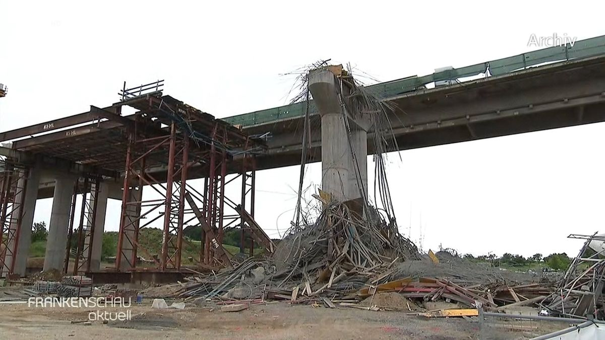 Schuldfrage nach Brückeneinsturz auf der A7 noch offen