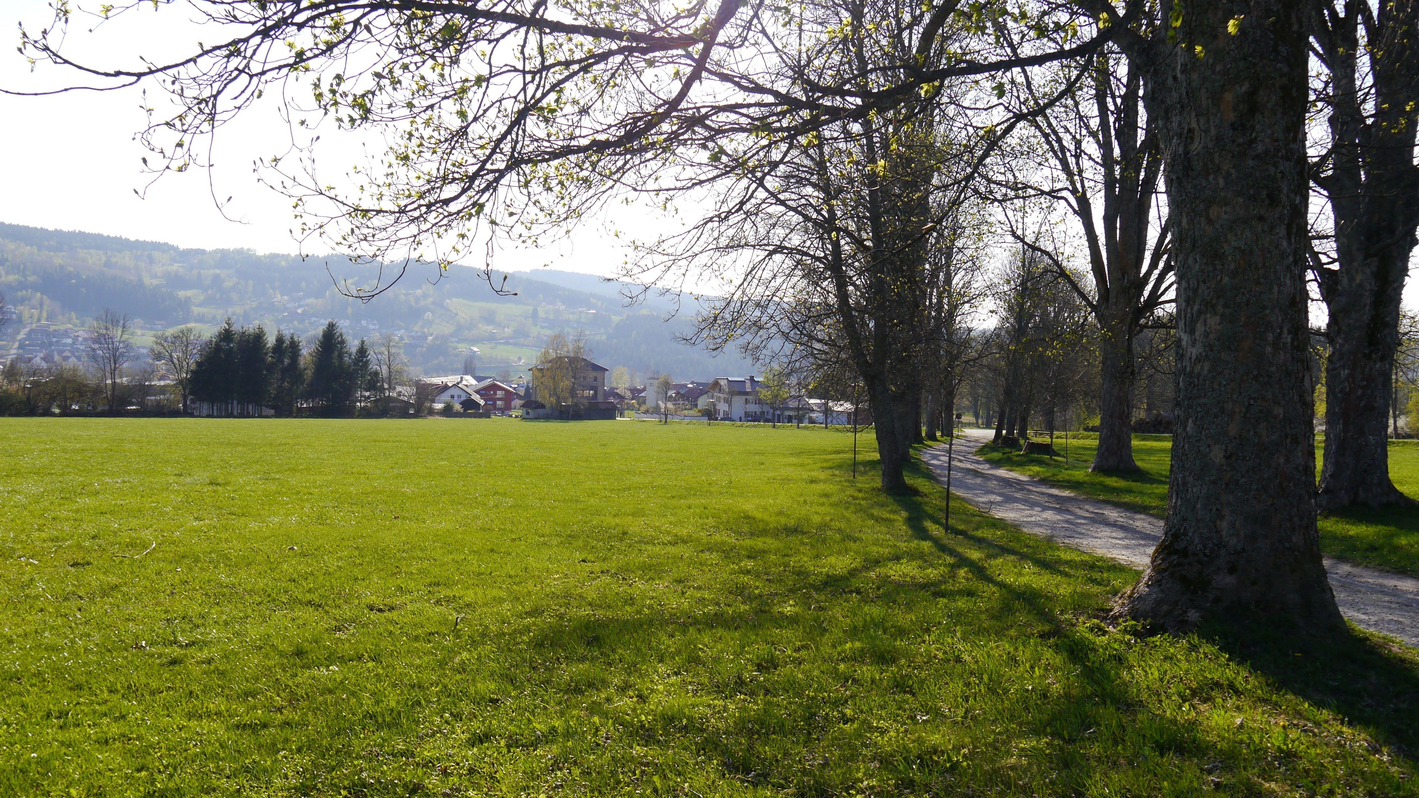 Das Hirschgartenareal in Frauenau