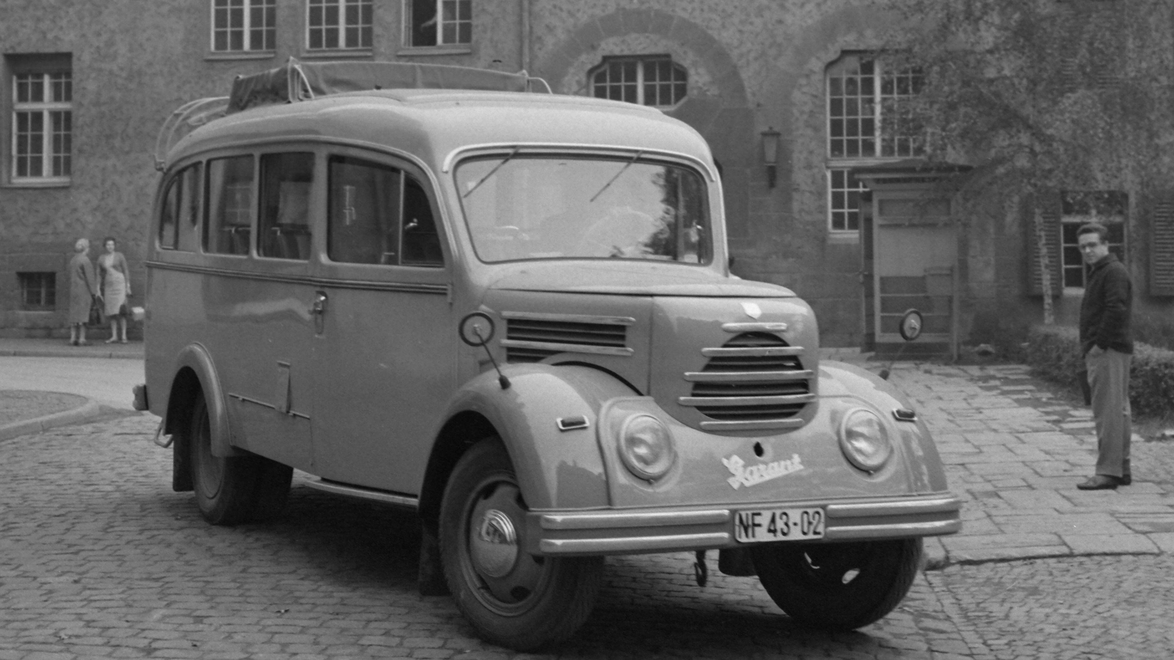 Robur Standard: Bus der Uni Jena, 1961